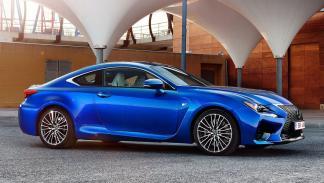 Los deportivos más vendidos en España en 2017 - Lexus RC
