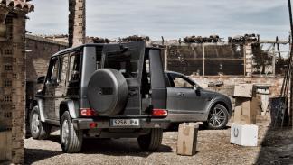 Mercedes Clase G vs Bentley Bentayga (contrabando)