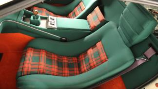 Tapicería Lotus Esprit S1 tartán