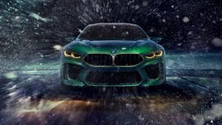 BMW M8 Gran Coupé Concept (frontal)
