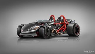 El coche de Ducati
