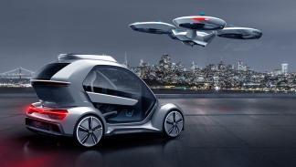 compacto electrico volar avion dron futuro