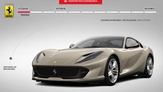 Configurador Ferrari 812 Superfast
