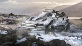 Porsche 911 GT2 RS convertido en 4x4