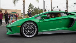 Lamborghini Aventador SV homenaje Miura