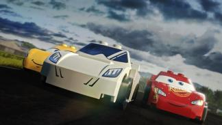 The Stig vs Rayo McQueen Lego