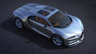 El techo solar del Bugatti Chiron