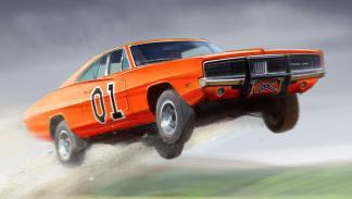 Los mejores coches de la televisión - Dodge Charger de 'Los Dukes de Hazzard'