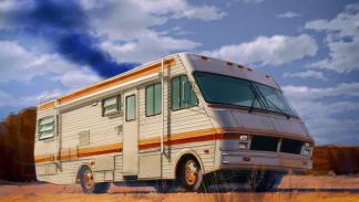 Los mejores coches de la televisión - Fleetwood Bounder de 'Breaking Bad'