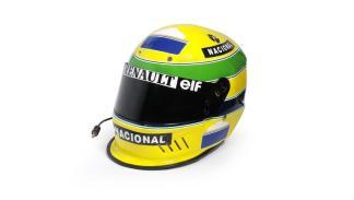 Subasta casco Ayrton Senna