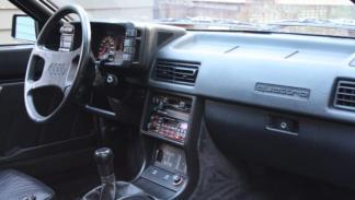 Se subasta este Audi Quattro de 1985 Interior