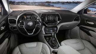 Galería prueba Jeep Cherokee 2018