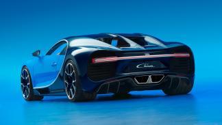 Bugatti Chiron trasera