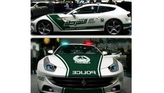 Ferrari FF - Policía de Dubai
