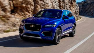 Jaguar F-Pace, frontal dinámica