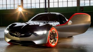Opel GT concept frontal