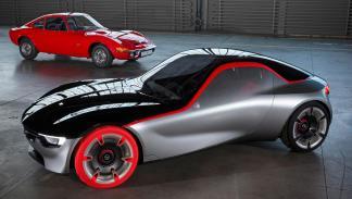 Opel GT Concept y Opel GT clásico