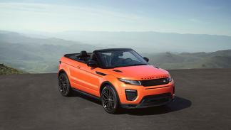 Prueba Range Rover Evoque cabrio sin capota