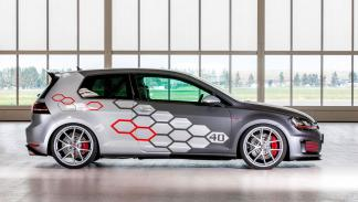 Volkswagen Golf GTI Heartbeat lateral llantas diseño