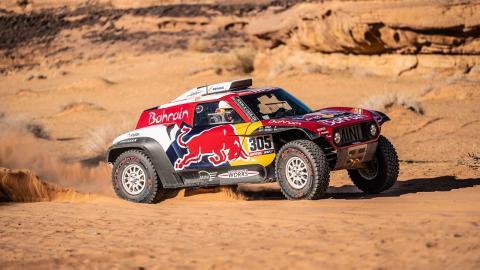 Sainz en la Etapa 5 del Dakar