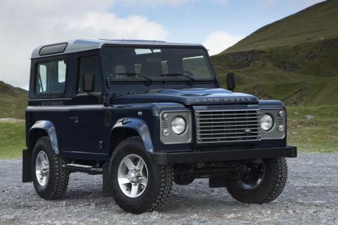 Land Rover Defender Jeremy Clarkson