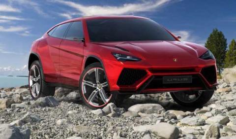 Lamborghini Urus delantera