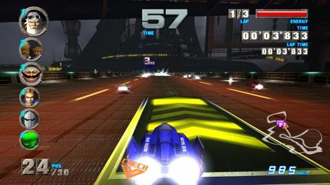 Recreativas de carreras: F-Zero AX