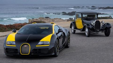 Bugatti Veyron Grand Sport Vitesse One of One pebble beach