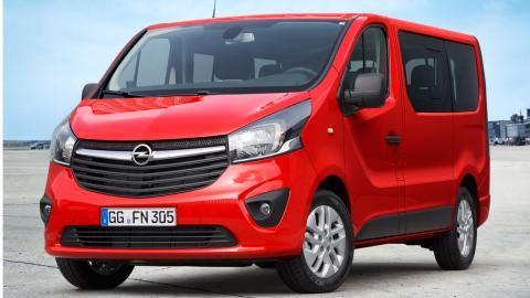 Opel Vivaro  delantera