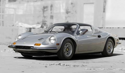 A subasta un Ferrari Dino 246 GTS de 1974