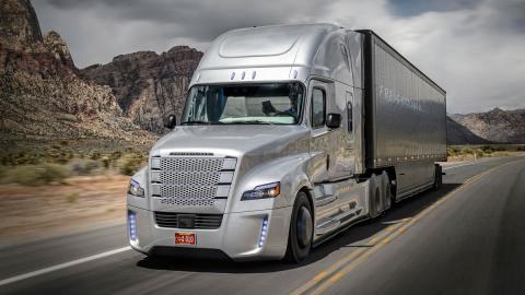 Freightliner Inspiration camión autonomo