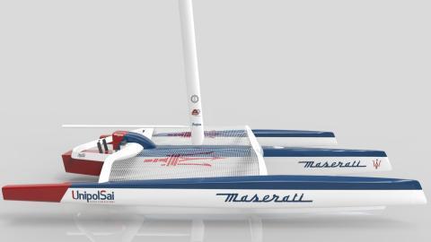 Catamarán de Maserati