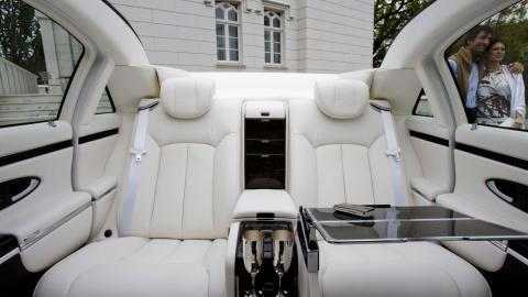 Maybach 62s Landaulet plazas traseras descapotable