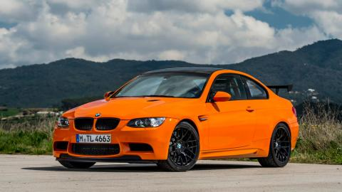 BMW M3 GTS naranja