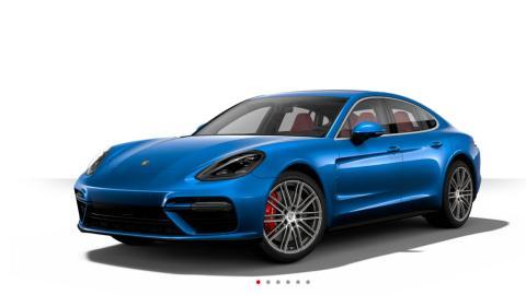 Configurador Porsche Panamera 2016 azul blue sapphire zafiro