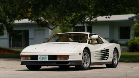 Ferrari Testarossa Corrupción en Miami