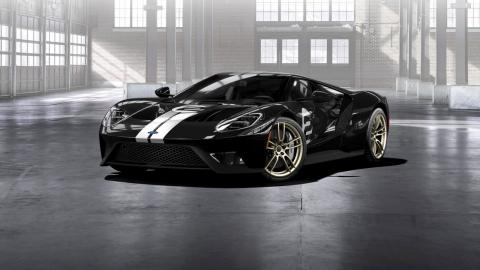 Ford GT Heritage 2017 frontal