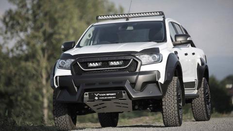 Ford Ranger M-Sport, 1