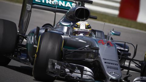 Hamilton en el GP de Canadá de F1