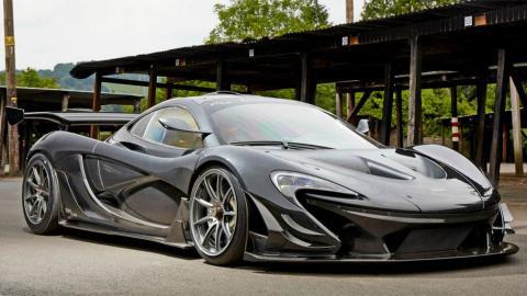 McLaren P1 LM parado brutal version