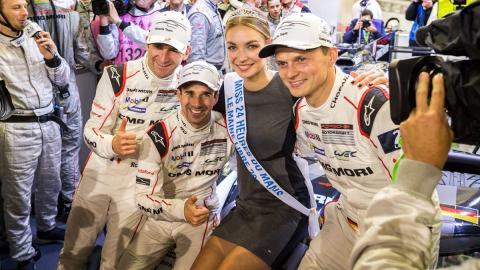 Porsche en las 24 horas de Le Mans 2016