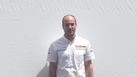 Roberto Gómez, ingeniero de Datos del Porsche 919 Hybrid número 2 de Le Mans