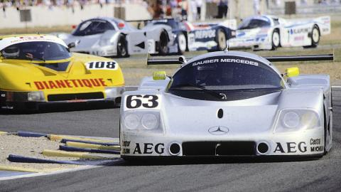 Sauber C90 de Jochen Mass / Manuel Reuter / Stanley Dickens