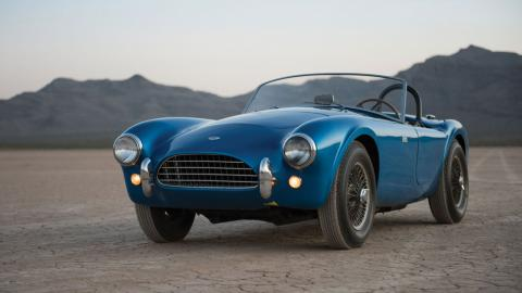 Shelby Cobra CSX 2000 frontal subasta