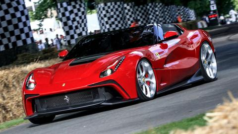 Ferrari F12 TRS one-off special projects