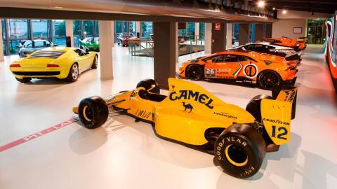 Nuevo museo Lamborghini