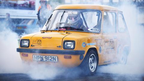 Condensador de Fluzo, el coche eléctrico más rápido del mundo homologado para circular