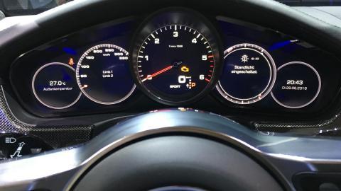 Cuadro de mandos del Porsche Panamera