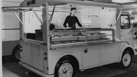 Food truck Citroën Tipo H