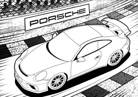 Porsche envió un mensaje secreto a Honda oculto en un 911